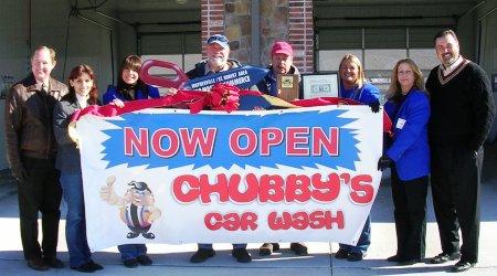 Ribbon Cuttings Held For Chubby S Car Wash And Shekinah Tabernacle
