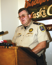 Sheriff JB King Releases Department Statistics