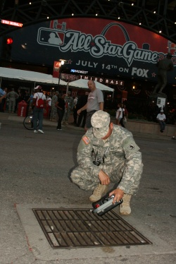 Guard's 7th Civil Support Team supports agencies at All-Star baseball