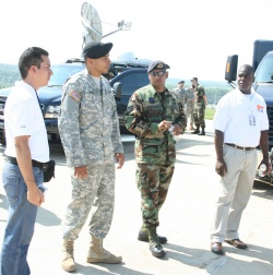 Fort Leonard Wood 7th CST helps Panamanians start 911 system
