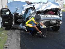 Five-vehicle pileup snarls traffic for hours Thursday on I-44 in St. Robert