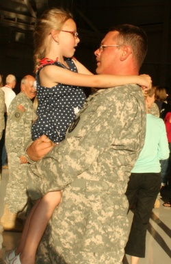 Guard welcomes home remainder of 1-106th Assault Helicopter Battalion