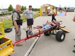 Guards' 7th Civil Support Team trains for disaster at Kansas Motor Speedway