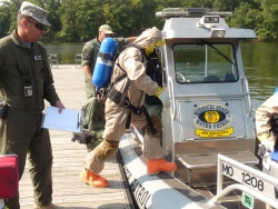 7th Civil Support Team conducts first waterborne exercise in Missouri