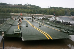 Guard's bridging unit helps Fort Leonard Wood validate training site