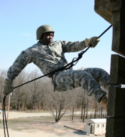 Inner-city native travels arduous path to become National Guard officer