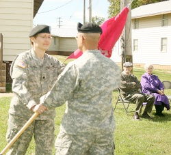 Vienna woman assumes command of 5th Ordnance Training Battalion