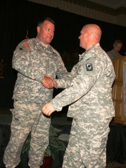 Fort Leonard Wood-based Guardsmen honored after deployment to Iraq