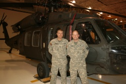 FLW helicopter crews celebrate 'Alive Day' of VA official Tammy Duckworth