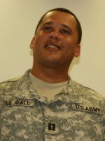 Capt. Jean Bernard Le Gall promoted in Missouri National Guard's 7th CST