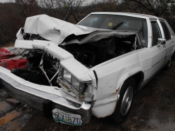 Trooper says fire truck placement likely saved his life during interstate wreck