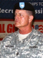 Command Sgt. Maj. Ray Harding retires after 37 years serving National Guard