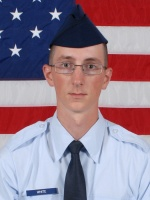 Airman 1st Class Bryce E. White graduates from Air Force basic training