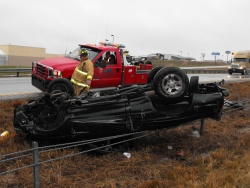 Interstate 44 pickup rollover snarls Saint Robert traffic Tuesday afternoon