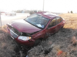 Two drivers hurt in separate Monday crashes in Crocker, Saint Robert