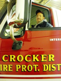 Crocker fire on Christmas leads to warning: Don't burn paper in fireplace