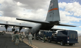 7th Civil Support Team tests ability to fly via Air Guard to training event