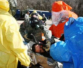 Successful exercise helps Missouri Guard's 7th Civil Support Team work with civilian first responders