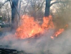 Resident tries to burn cardboard box, destroys neighboring trailer instead