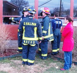 Fire caught before it spread out of Waynesville Middle School art room