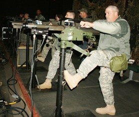 Guard's 35th Engineer Brigade uses simulator for firing range preparation