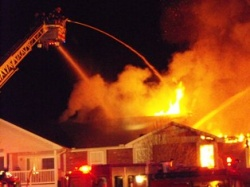 Shannon Valley Apartments engulfed in fire; multiple residents trapped