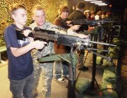 Camdenton's Horizons students get taste of Army at Fort Leonard Wood