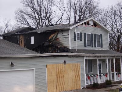 Blaze causes $200,000 damage to FLW house