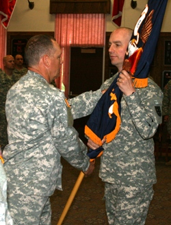 Reichman takes command of Guard's 140th Regional Training Institute