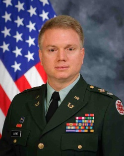 Former Chamber of Commerce president promoted to JAG colonel