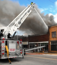 Fire-damaged building in Richland will have to be torn down, chief says
