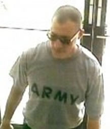 Bank robber who used Army uniform disguise pleads guilty