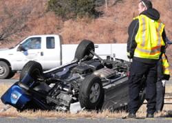 Troopers respond to Monday wrecks