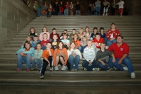 Rep. Day Welcomes Richland 4th Graders to the Missouri State Capitol