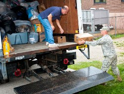 Fort Leonard Wood sends truck of donations to Joplin tornado victims