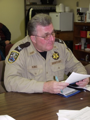 Sheriff says budget cuts will force staff cuts