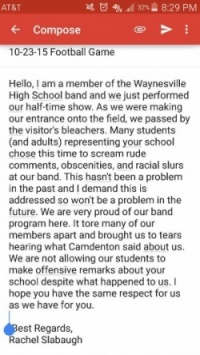 Camdenton, Waynesville school officials pledge investigation of racial slurs at Friday football game
