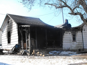 Fire wrecks Dixon home Saturday