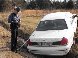 Weekend wrecks hit area roads