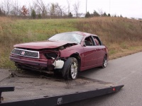 SR woman survives ejection during I-44 rollover