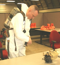 National Guard hazmat team at FLW prepares for March 18 evaluation