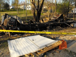 Tuesday night trailer explosion severely injures Dixon man