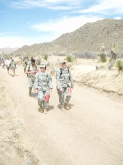 National Guard sergeant from Crocker competes in Bataan memorial march