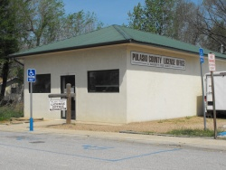 County won't bid on license fee office