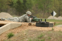 Missouri National Guard's 35th Engineers qualify on weapon ranges