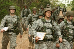 Missouri National Guard officer candidates conquer land navigation