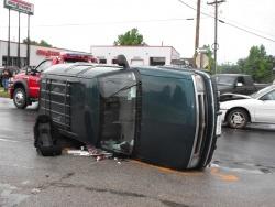 Six crashes involving area residents hurt 13 people so far since Thursday