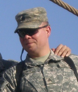 Death announced of Missouri National Guard sergeant with family at FLW
