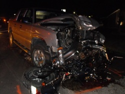 Motorcyclist killed Thursday night in SR by head-on crash on Old Route 66