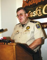 Sheriff JB King Releases Department Statistics